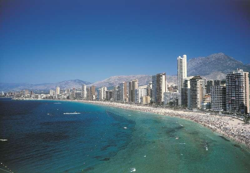 Panorámica de Benidorm, destino turístico por excelencia de la Comunitat Valenciana