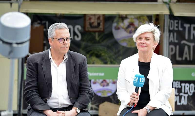 Evarist Castelles i Pilar Moncho