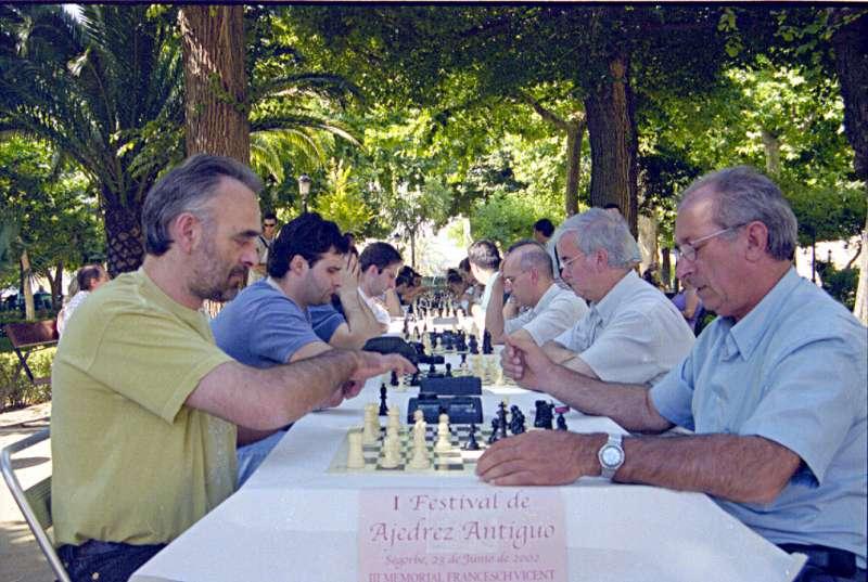Competición en homenaje e Vicent en Segorbe (2002)