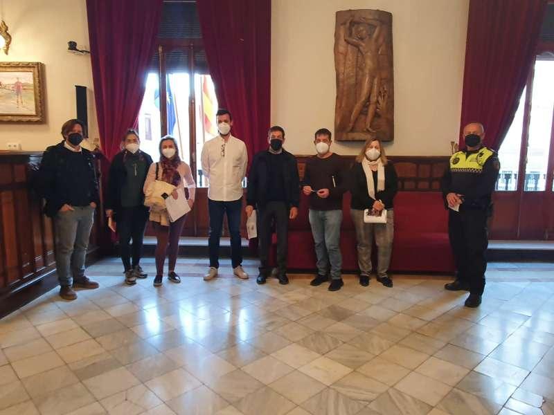 Reunió obres del col·legi Carrasquer./EPDA