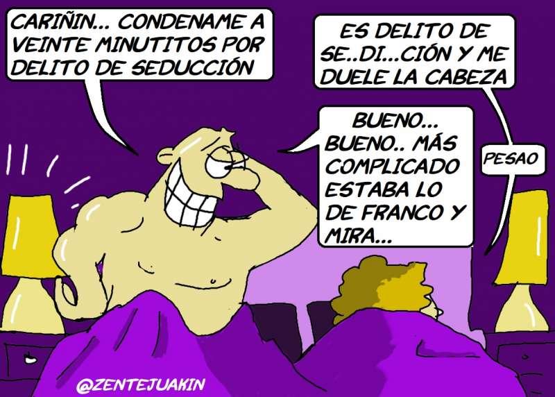 Delito de seducción. García Nebot