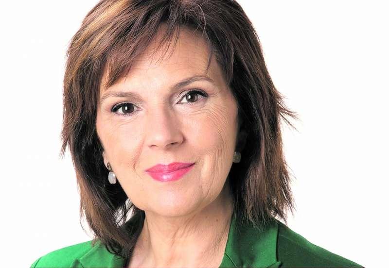 Candidata del PSOE, Carmen Martínez