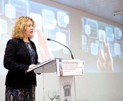 La alcaldesa de Alcàsser, Remedios Avia, FOTO: EPDA