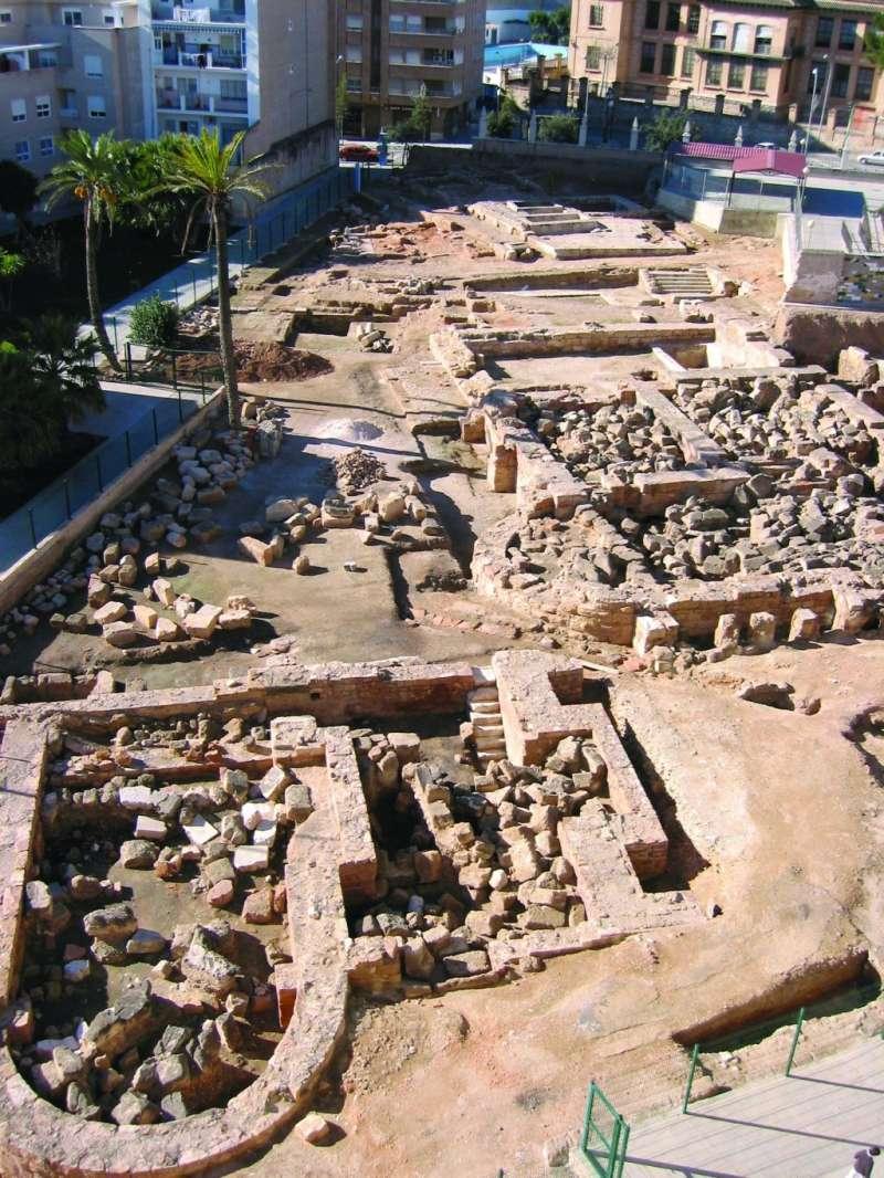 Sabtuari i termes romanes de Llíria./epda