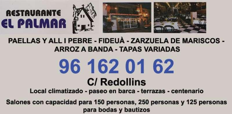 Anuncio del restaurante El Palmar. EPDA