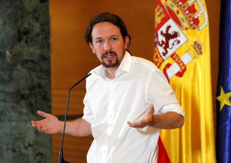 El secretario general de Podemos, Pablo Iglesias, en una imagen reciente. EFE