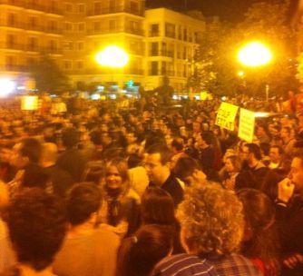 Imagen de un momento de la manifestación. FOTO: EPDA