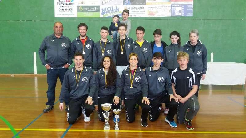 El Club de Badminton de Teulada