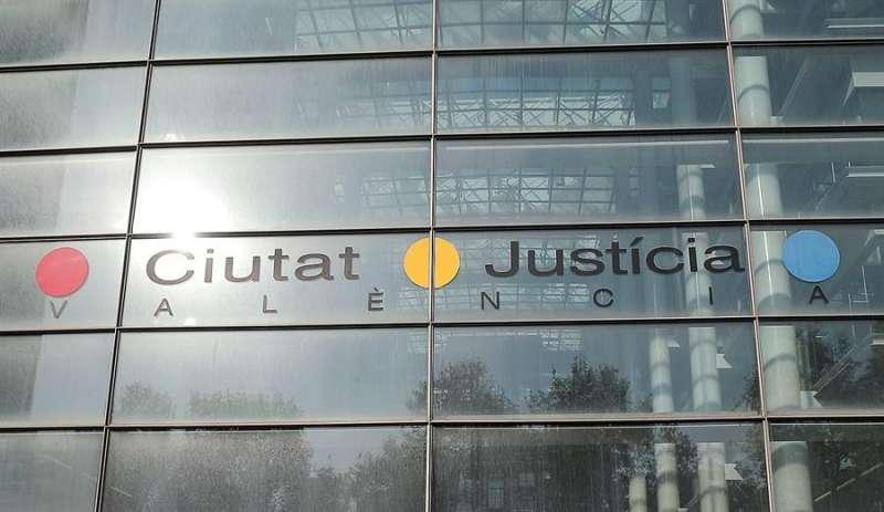 Imagen del edificio de la Ciudad de la Justicia de València. EFE