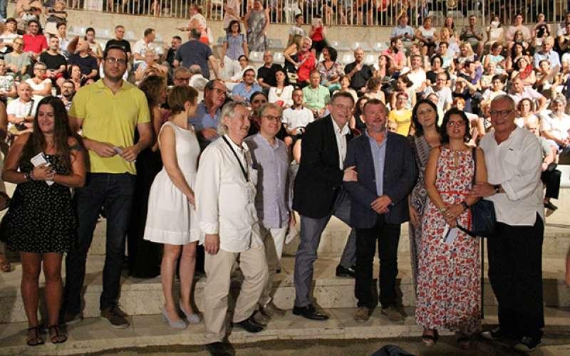 El president de la Generalitat amb l
