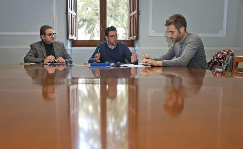Reunión sobre el Plan de Inversiones y Financiación en Infraestructuras de las Comarcas Alicantinas 2020-2023. EPDA