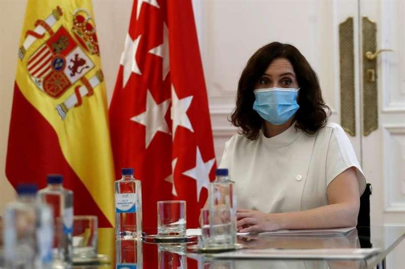 La presidenta de la Comunidad de Madrid, Isabel Díaz Ayuso. EFE