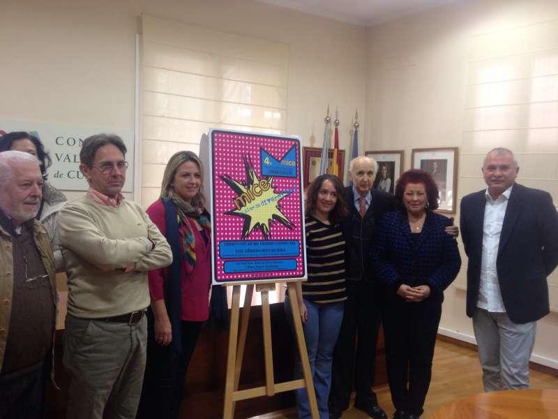 Momento de la presentación del cartel del Festival cinematográfico. //EPDA
