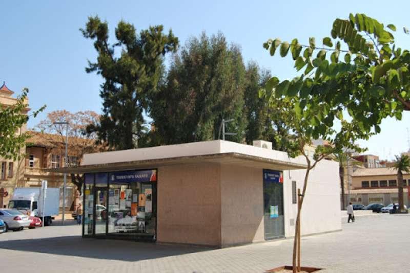 Oficina de Turismo en Sagunt. EPDA