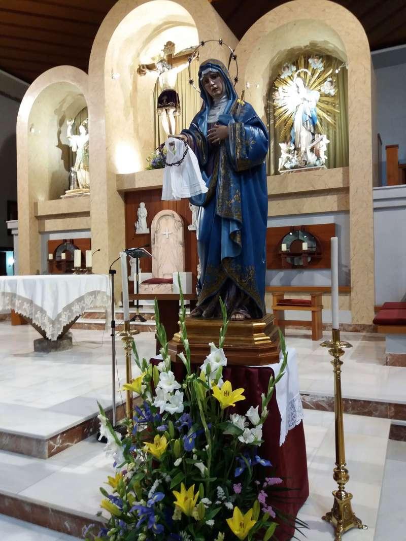 La Virgen de los Dolores. FOTO EPDA