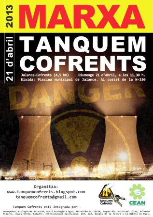 Plataforma Tanquem Cofrents. Foto EPDA