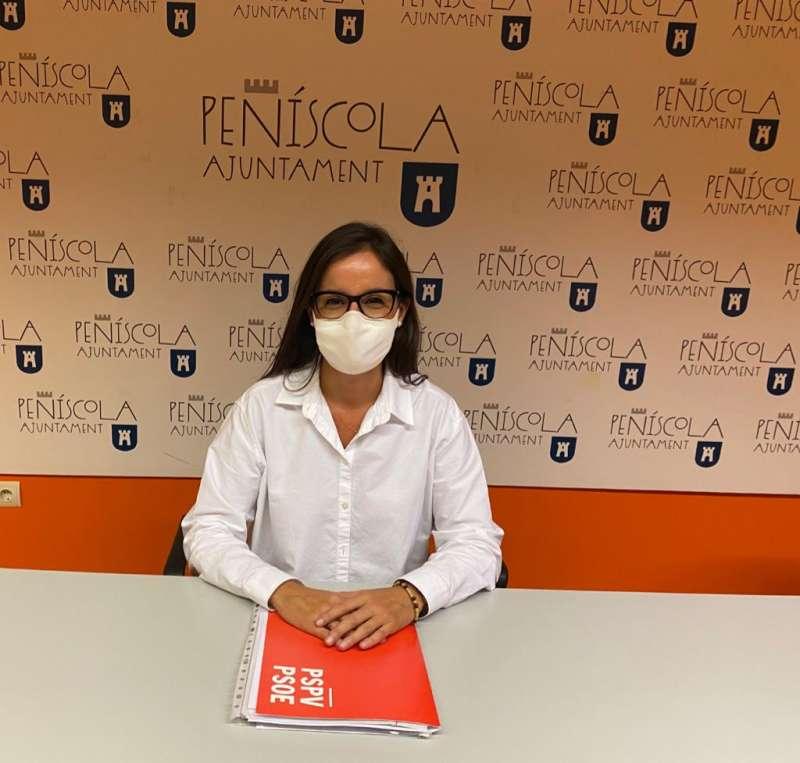 Isabel Esbrí regidora del (PSOE) de Peñíscola