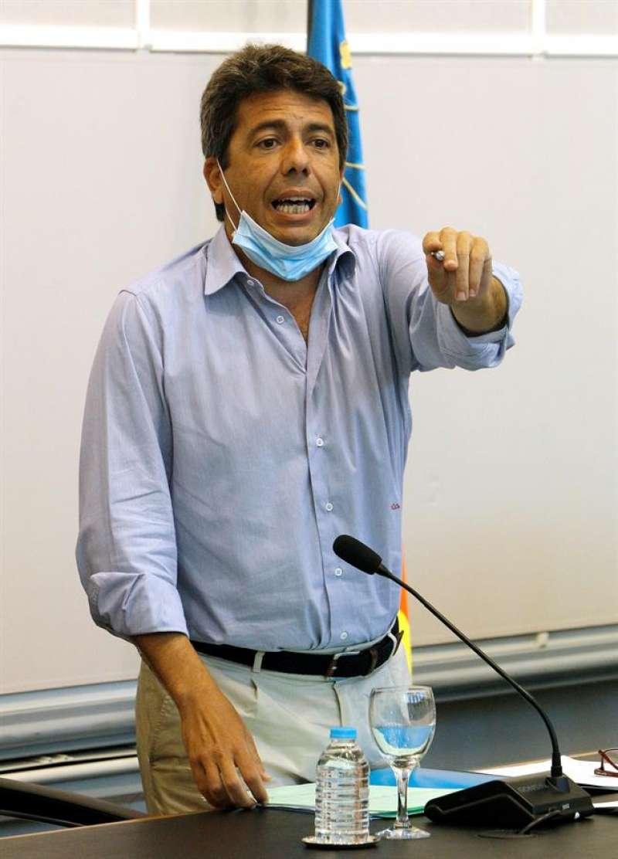 El presidente de la Diputación de Alicante, Carlos Mazón. EFE
