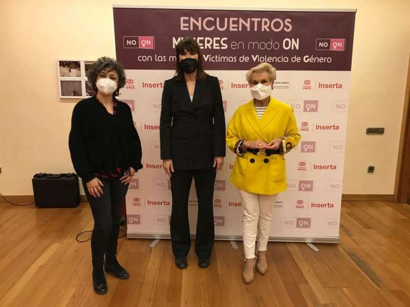 Carmen Quintanilla, en el Encuentro Mujeres ON-VG organizado por la Fundación ONCE. EPDA