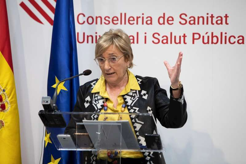 La consellera de Sanitat, Ana Barceló. Archivo/EPDA