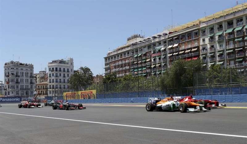 Gran Premio de Europa en el circuito urbano de València del 24 de junio de 2012. EFE/Valdrin Xhemaj/Archivo