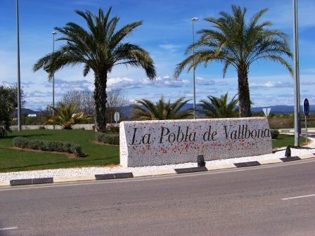 Entrada a la Pobla de Vallbona. Foto EPDA