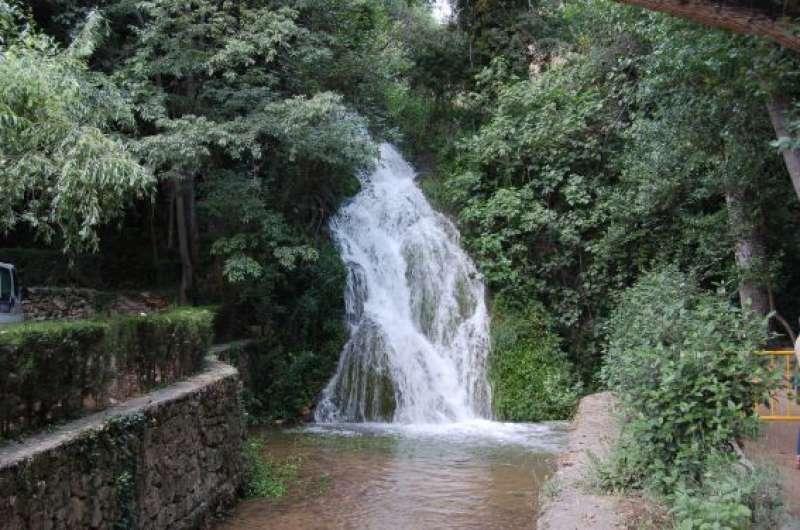 Salto de agua en la Floresta