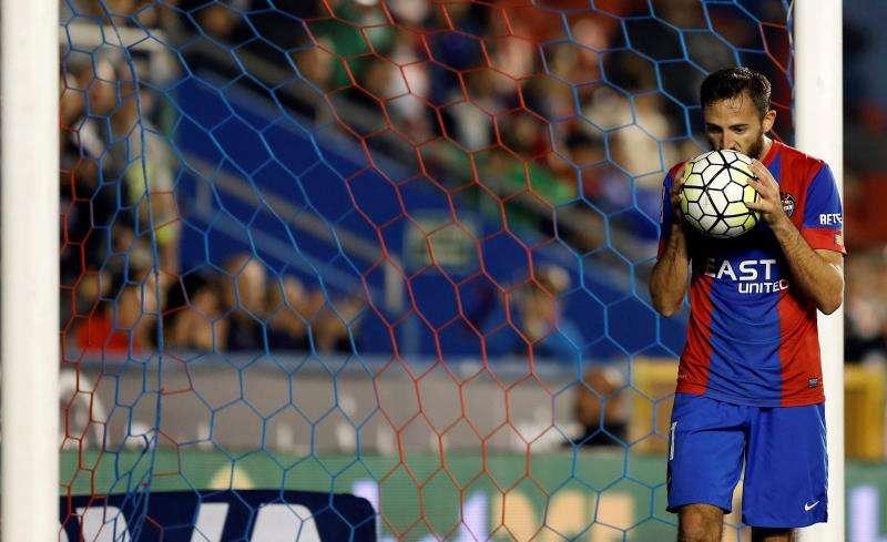 El centrocampista del Levante José Luis Morales. EFE/Archivo