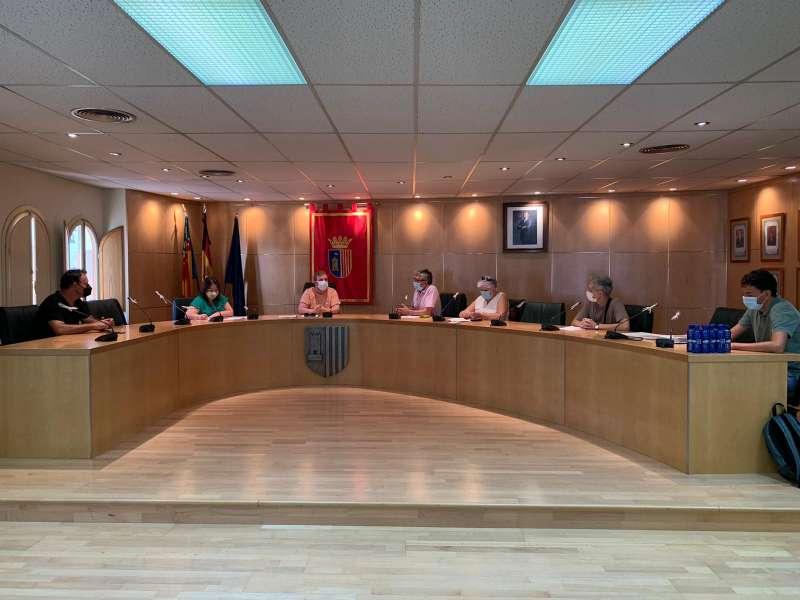 La reunión ha tenido lugar en el salón de plenos