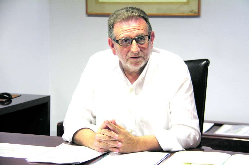 Alcalde y candidato del PSOE, Jesús Ros