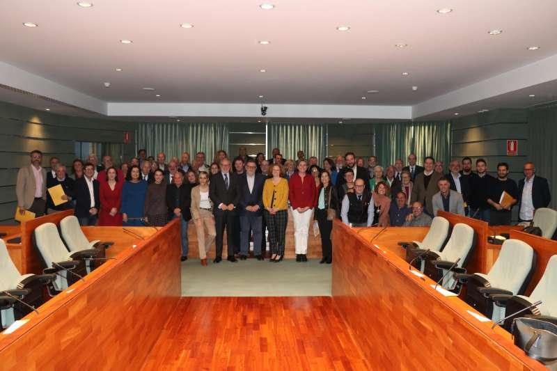 Imagen de todos los concejales y alcaldes democráticos de Torrent