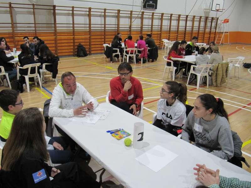 World Café contra la violencia en el deporte escolar. EPDA