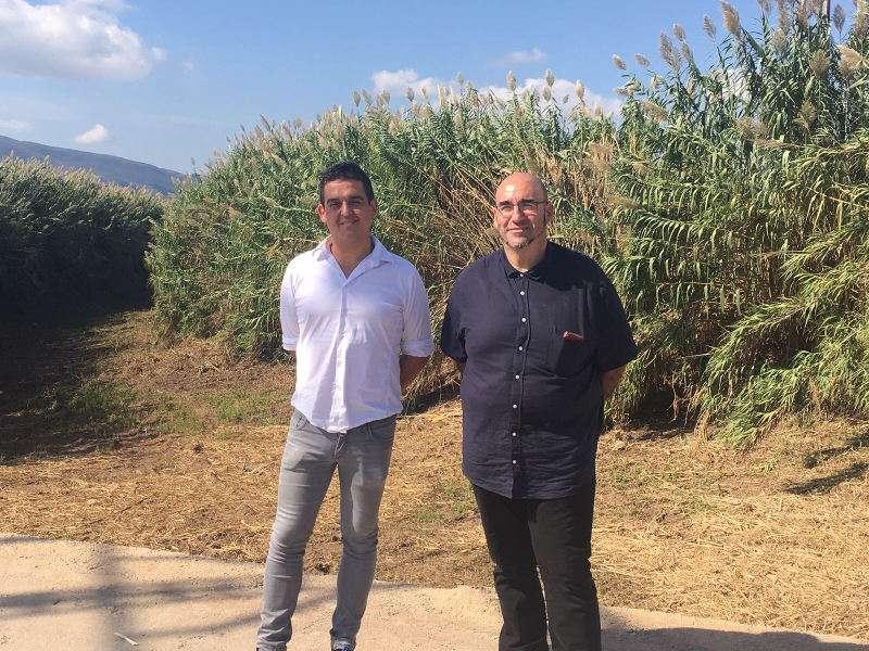 Los senadores de Compromís, Carles Mulet y Jordi Navarrete. EPDA