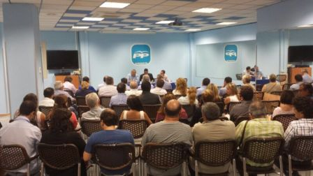 Imagen de la ejecutiva comarcal. FOTO: EPDA