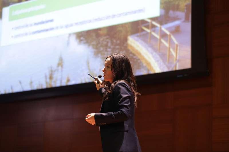 Amelia Navarro, directora de Desarrollo Sostenible de Hidraqua en Ecofórum
