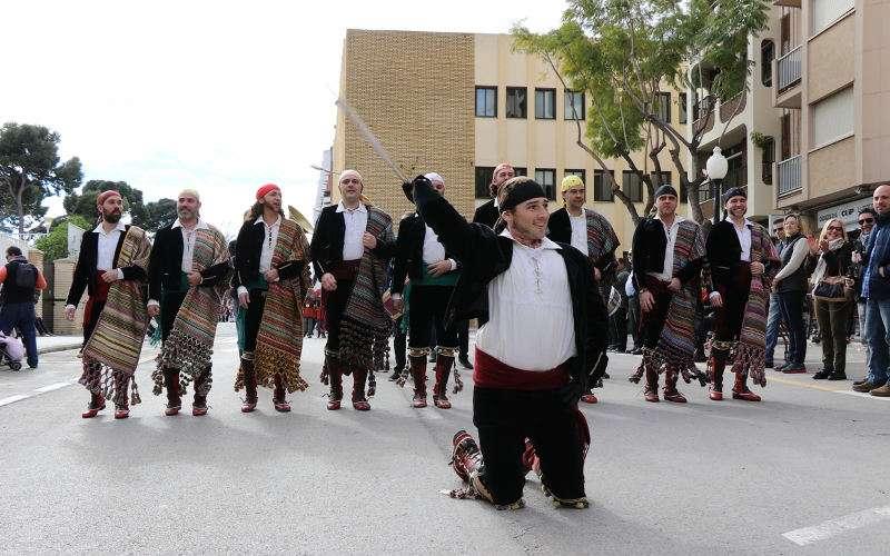 Festa de Mig Any de Moros i Cristians a Torrent. EPDA