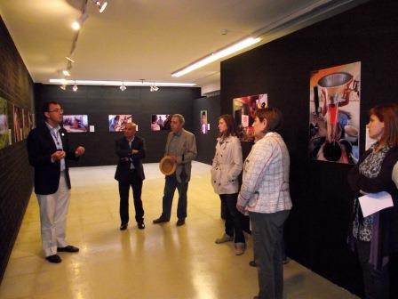Inauguración de la exposición. Foto: EPDA.