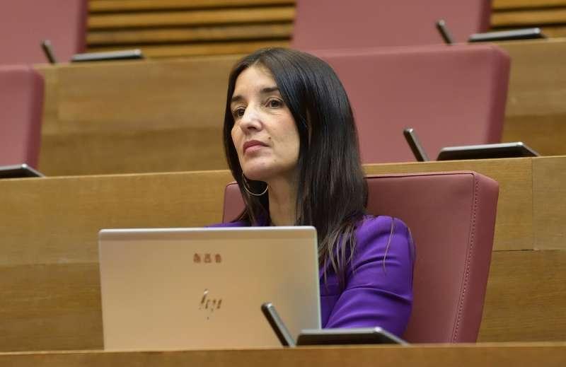 La portavoz adjunta de Ciudadanos Ruth Merino