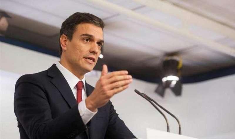 Pedro S�nchez. Foto archivo EFE