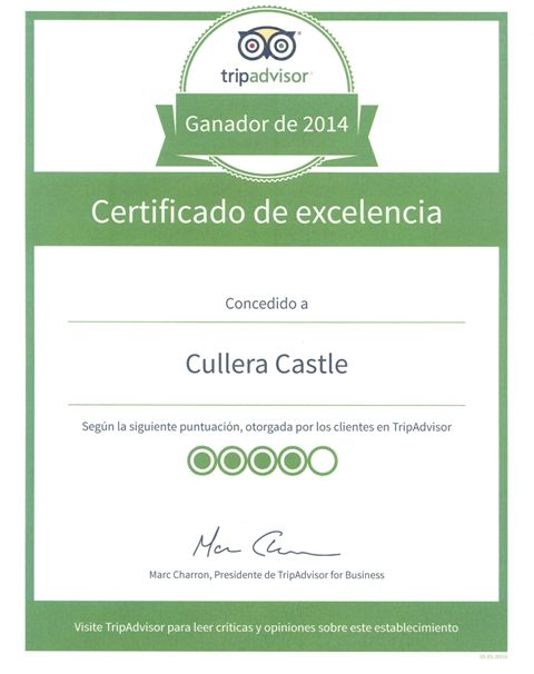 Imagen del certificado. FOTO: EPDA