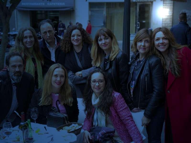 Foto de archivo cena de empresa.- EPDA