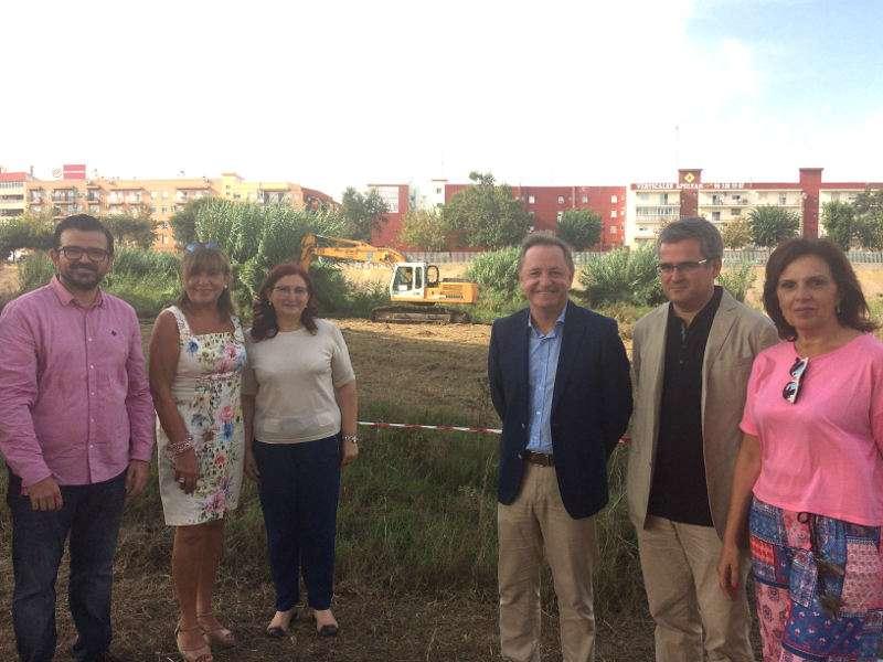 Visita del delegado de Gobierno al cauce del Turia a su paso por las localidades de l