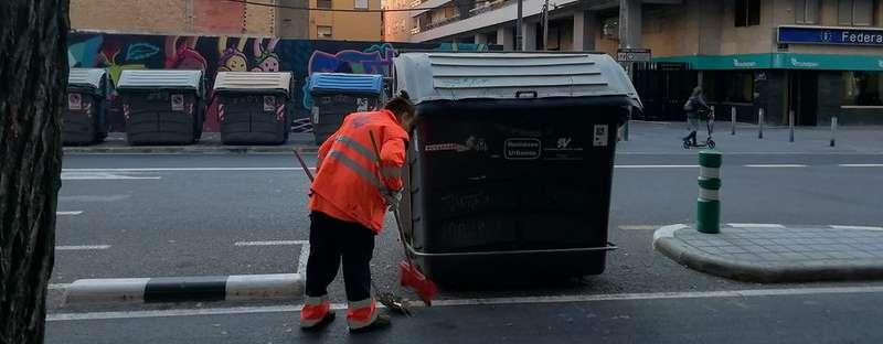 Treballador de la neteja. EPDA