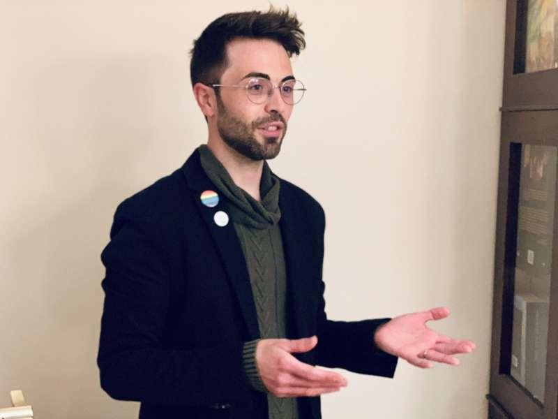 Victor Manuel Serra, presidente de la Asociación LGBTI  ?El Mirall Camp de túria?./ EPDA