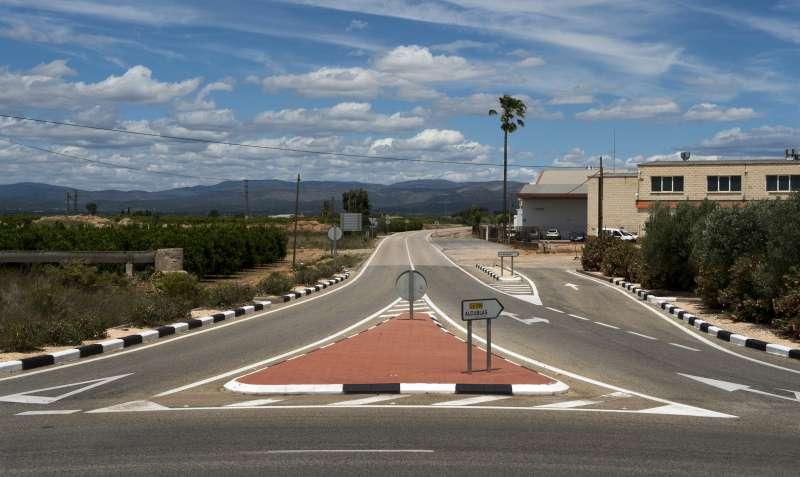 Carretera Llíria-Alcublas. / EPDA