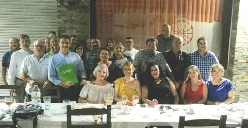 Cena de Contigo Somos Democracia (CSD) en Quart de Poblet. EPDA