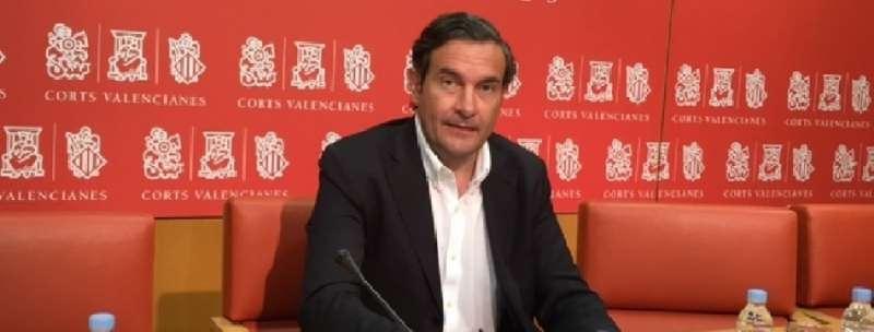 El portavoz de Turismo del Grupo Parlamentario Popular en Les Corts, Fernando Pastor