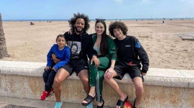 Marcelo, el fin de semana pasado, junto a su familia en la imagen que subió él mismo a su cuenta de Instagram / EPDA