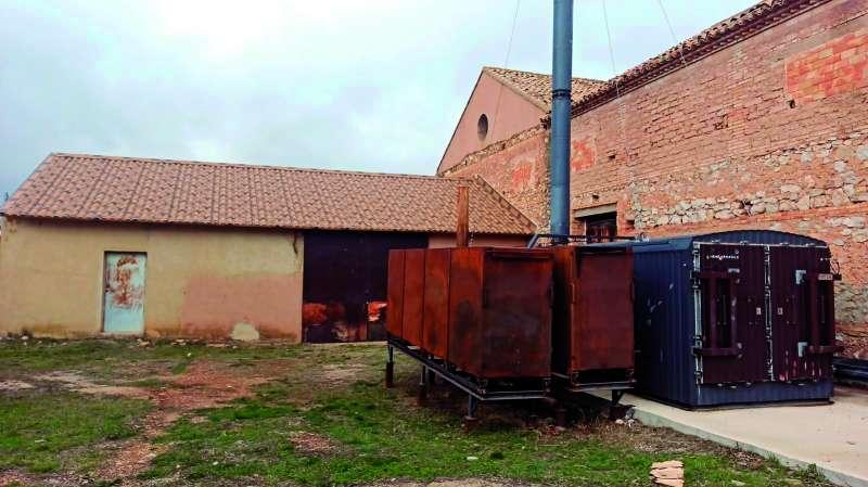Edificio de la bodega del municipio de Benagéber. / EPDA