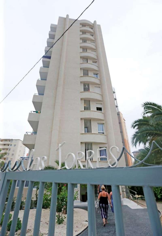 Edificio en el que supuestamente se cometió una agresión sexual. EFE / Manuel Lorenzo